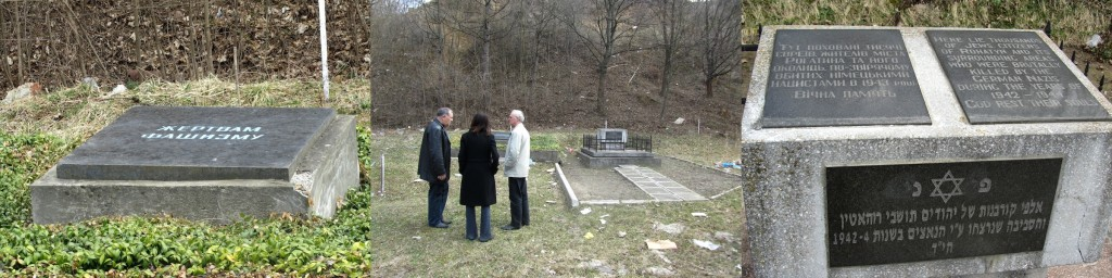 The northern mass grave memorial