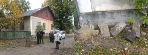 The new collection of stones on Yuri Rohatyn Street
