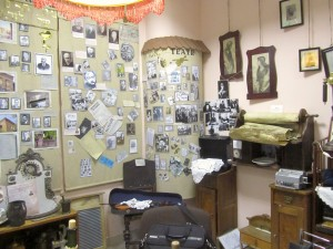One corner of the museum at Hesed-Arieh