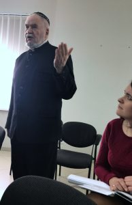 Rabbi Silva of Lviv encourages immediate activism