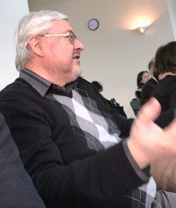 Regional historians and professors participated