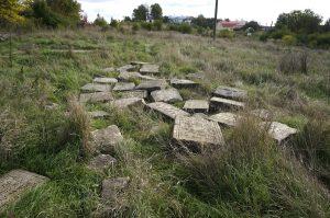 Jewish headstones returned to Rohatyn's old Jewish cemetery