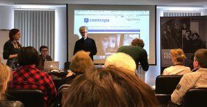 Centropa director Edward Serotta opens the seminar