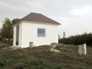 The new ohel in the old Jewish cemetery