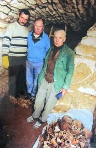 Discovery of bones under the Ukrainian Church