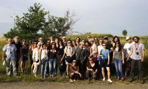 The group farewell photo