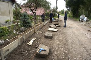 Jewish gravestone recovery from the streets of Rohatyn