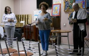 Ada Dianova opens the discussion