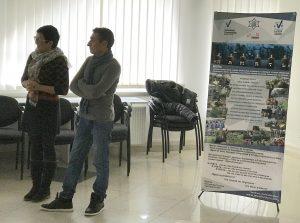 During the presentation on Lutsk
