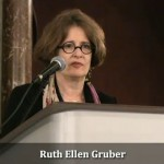 Ruth Ellen Gruber chairing the conference