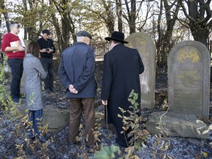 At the new Jewish cemetery