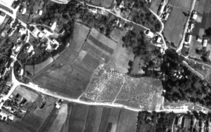 1944 aerial photo of Rohatyn