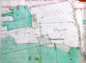 1846 cadastral map of Rohatyn