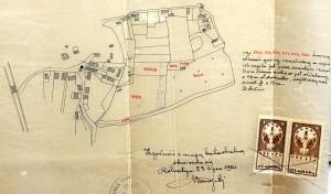 1921 cadastral map of Rohatyn