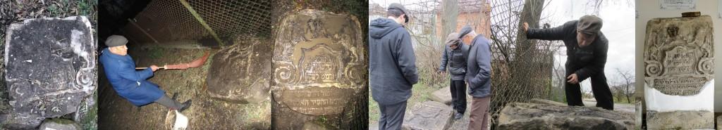 The rabbi's matzevot on Zelena
