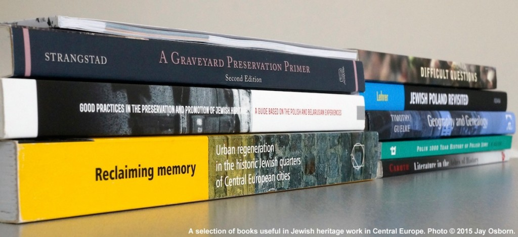 A selection of titles relevant to Jewish heritage work