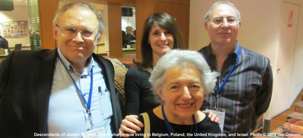 Jewish Rohatyners meeting in Paris in 2012