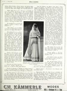 Wiener Salonblatt 03Apr1909