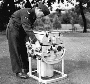 A captured German Rb 50/30 camera