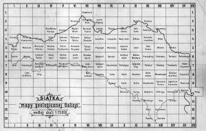 The plan for Galicia. Source: WIG map archive.