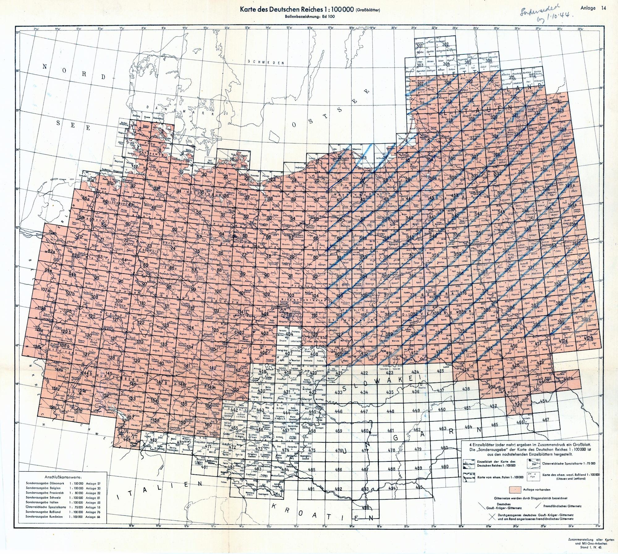 Mapping Rohatyn 1944 Topographic Map Rohatyn Jewish Heritage
