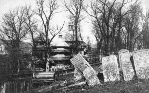Rohatyn's old Jewish cemetery in an undated pre-war photograph