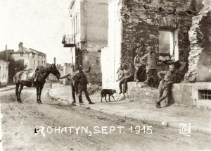 Quiet time in Rohatyn, September 1915