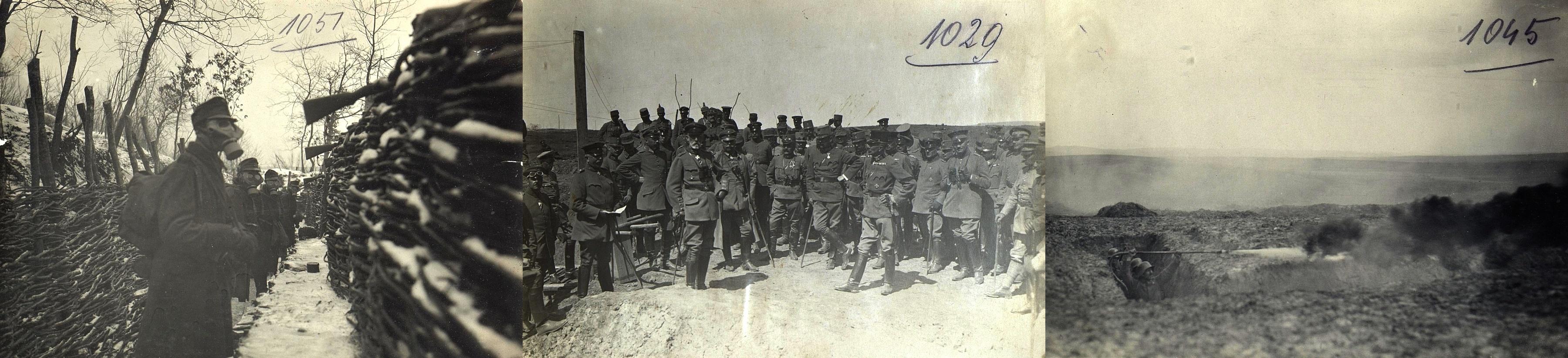 Military training exercises around Rohatyn, 1916