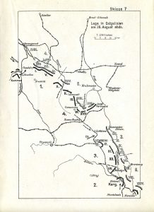Another view of the intense fighting of 28Aug1914