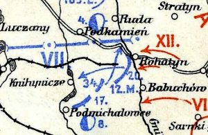 Rohatyn at the center of the Battle of Hnyla Lypa