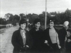 Women friends walking in Rohatyn
