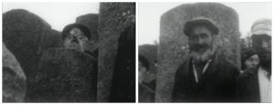 Two views of the old Jewish cemetery of Rohatyn