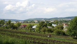 A view over Verbylivtsi today
