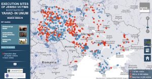 The interactive research map for Ukraine