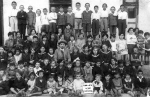 A Rohatyn Hebrew school class in the 1930s
