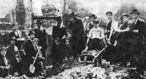 Clearing and rebuilding the Great Synagogue in Rohatyn