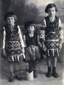 Young sisters from a Rohatyn Jewish family