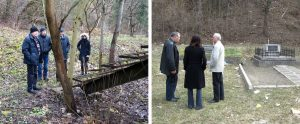 With Mr. Semenka at the vodokanal site