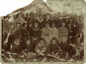 A youth group in Rohatyn, interwar period