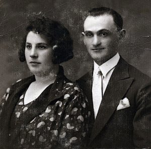 his aunt Esther and uncle Isidore Glotzer