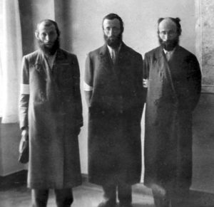 Three rabbis in Brody