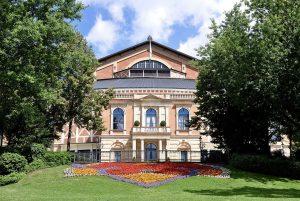 The Richard Wagner Festspielhaus