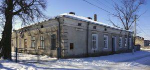 The former municipal bath house in Rohatyn