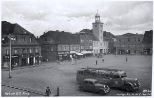 The town square of Rybnik