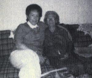 Rosette with Mrs. Baczynska