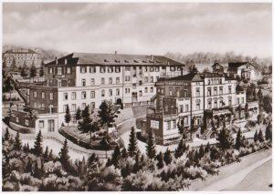 The hospital in Stuttgart
