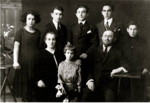 The Faust family in 1924
