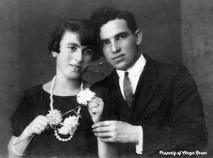 Leon Faust and his wife Cyla
