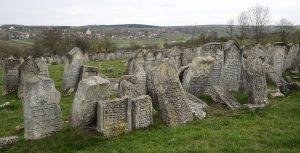 The Pidhaitsi Jewish cemetery