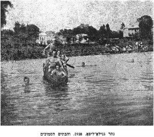 At the Hnyla Lypa River, 1938